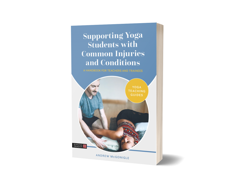 A 3D render of Supporting Yoga Students with Common Injuries and Conditions